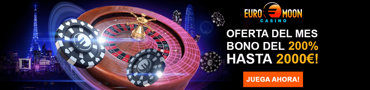 Euromoon Ruleta Casino Cabecera
