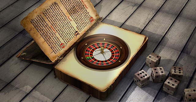 ruleta de casino y dados