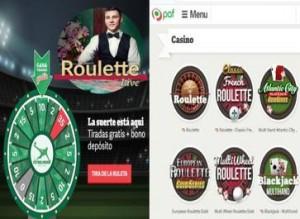 Apuesta segura entrega 20 euros de retorno en Casino Paf