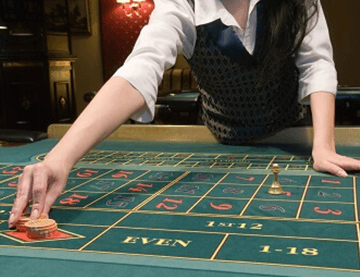 ruleta con crupier en casinos en vivo